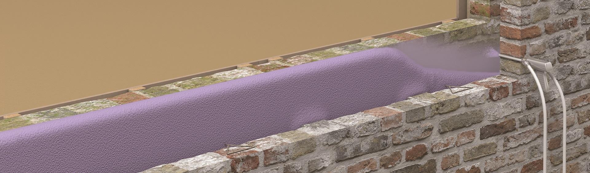 Cavity Wall Sprayfoaminsulation Ie
